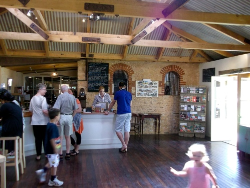 Pindarie Cellar door tasting room