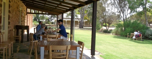 Verandah at Pindarie
